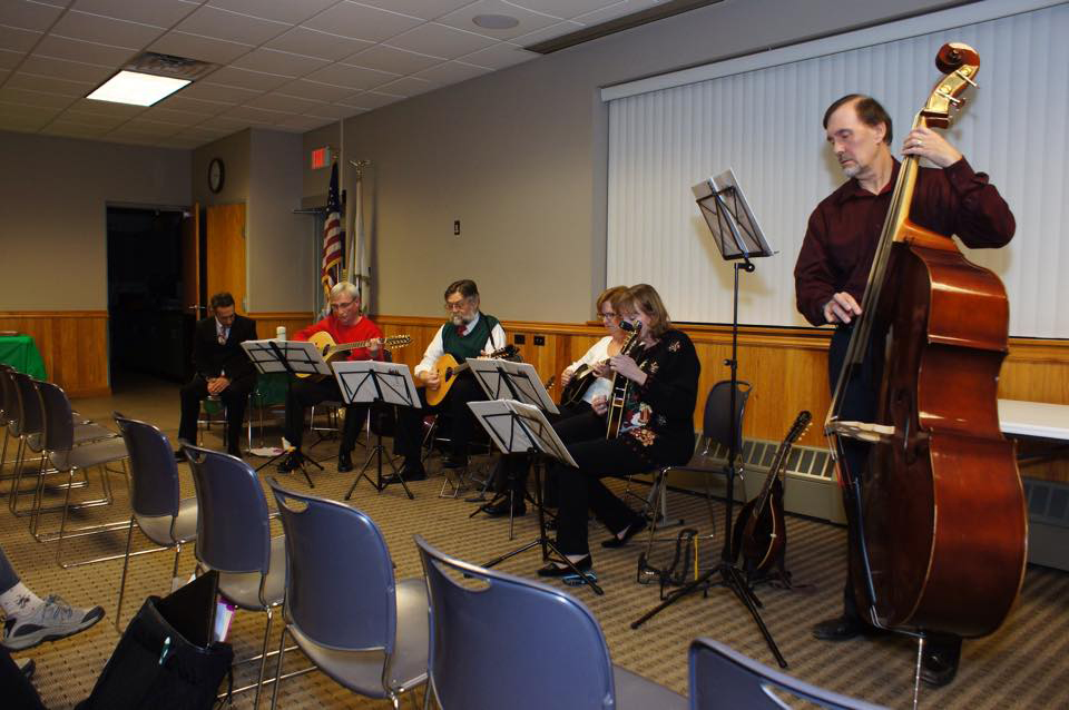 Riversong String Ensemble, Greentree Women's Civic Club, December 4th 2014